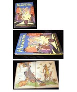 The Story Of Hiawatha Hard Cover Book Allen Chaffee Illustrated by Armst... - $18.99