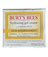 Burt's Bees Hydrating Gel Cream With Royal Jelly Skin Nourishment 1.8 fl... - $8.88