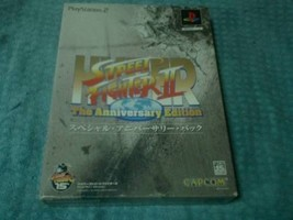 Capcom Hyper Street Fighter II Anniversary Edition Video Game For PS 2 J... - $336.00