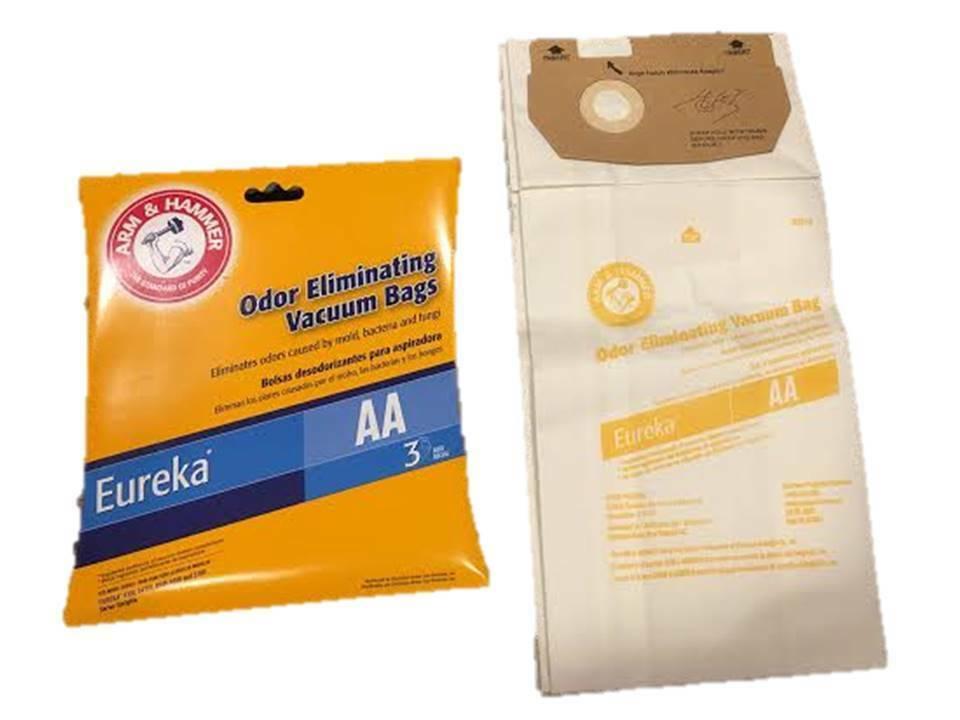 9 Eureka TYPE AA Style AA Vacuum Bags 62618A 58236 4100 5180 ARM & HAMMER - $9.69