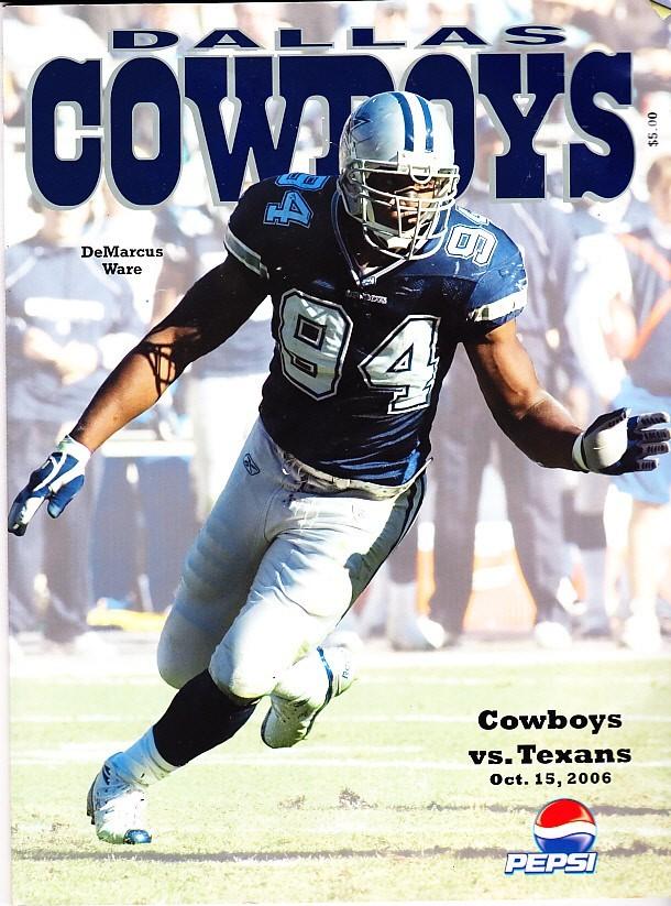 Dallas Cowboys Vs Houston Texas October 15 And 50 Similar Items