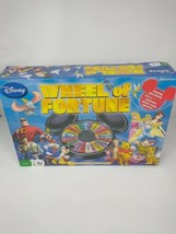 Disney Pixar Wheel of Fortune Board Game 2008 Pressman. Family Fun. Comp... - $17.99