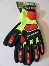 NWT-Mechanix Wear M-PACT-Cut Resist-Knit  Utility Glove-Hi Vis Yellow/Re... - $14.24