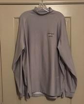 Footjoy Mens Golf Mock Turtleneck Shirt Sz L Canyon Springs Golf Club Gray - $34.99