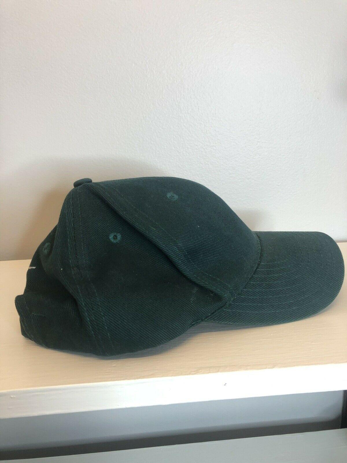 Vintage 90s Nike Strapback Hat, Green, Adjustable Size