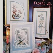Far Eastern Floral Cross Stitch Leaflet 70 Stoney Creek 1989 Oriental Ro... - $16.99