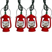 Rivers Edge Light Set 10 Deluxe Red/Green Camping Lantern - $20.74