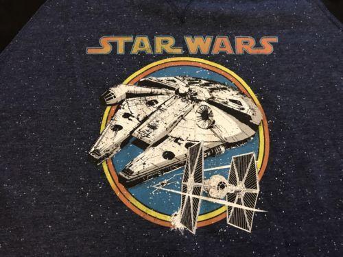 STAR WARS TIE FIGHTER MILLENIUM FALCON Hooded Sweatshirt XL NEW NWT