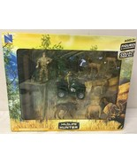 Wildlife Hunter Playset Deer and Moose with Tree Stand and 4 Wheeler  - $26.65