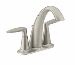 Kohler K-45100-4-BN Alteo Double Handle Centerset Bathroom Faucet - $94.05