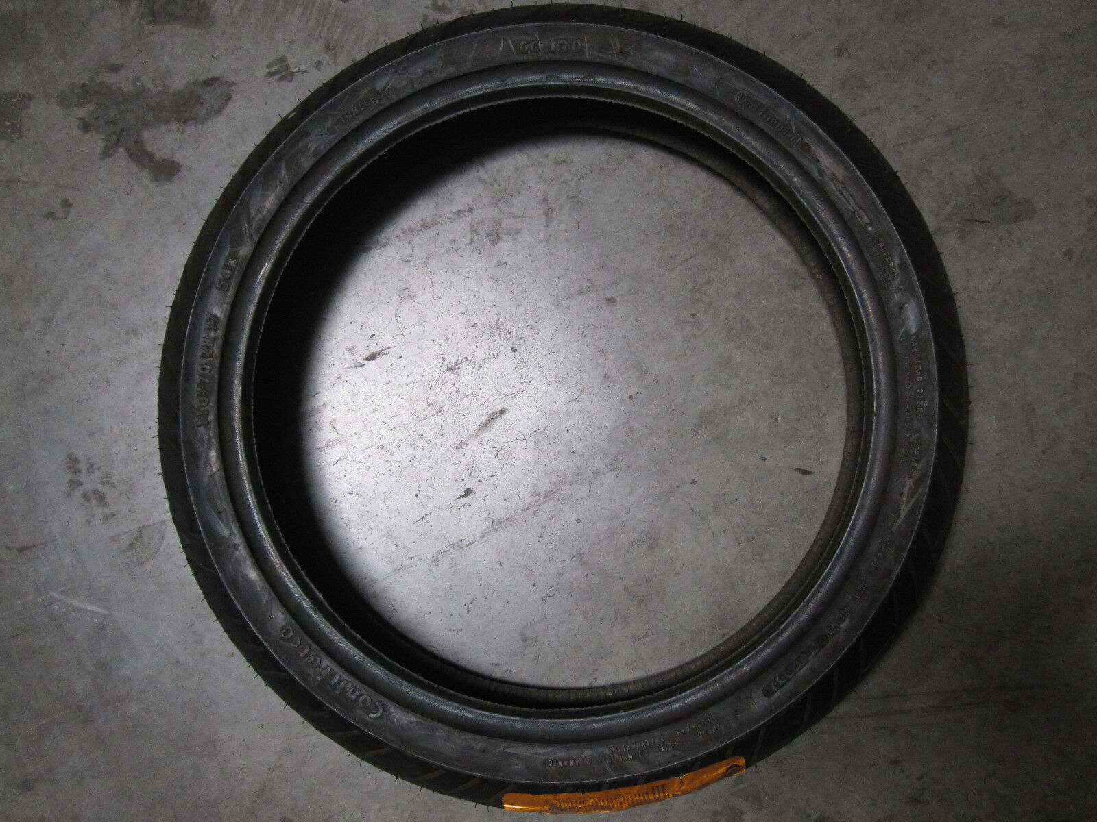 CONTINENTAL CONTIFORCE MOTORCYCLE TIRE 110/70ZR17 54W OLD STOCK