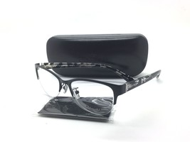 Coach Women Black Semi Rimless New Eyeglasses HC 5078 9254 crystal 52 Pl... - $69.97