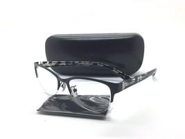 Coach Women Black Semi Rimless New Eyeglasses HC 5078 9254 crystal 52 Pl... - $64.37