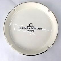 "Geneve Baume & Mercier  7""  Ashtray  (Watch Company) Rare Item Ceramic  - $28.05"