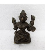 ORIGINAL HINDU RELIGIOUS ANTIQUE/VINTAGE BRASS BRONZE COLLECTIBLE PIECE ... - $78.73