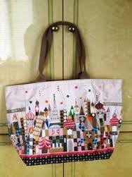 Primary image for Lesportsac It's a Small World See the World Picture Tote