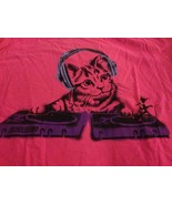 URBAN OUTFITTERS Changes DJ KITTY Cat Headphone Record Turntable T-SHIRT... - $65.09