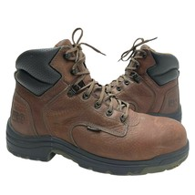 Timberland PRO TITAN Men's Leather Alloy Safety Toe Work Boots Size 10.5... - $64.90