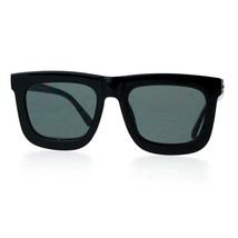 Super Flat Lens Sunglasses Arrow Design Oversized Square Frame New Hot - $11.65