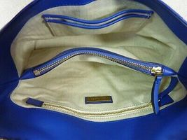 NWT Tory Burch Nautical Blue Kira Chevron Convertible Shoulder Bag image 11