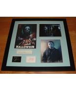Halloween 1978 Movie signed Donald Pleasence, Jamie Lee Curtis ++ - $535.00