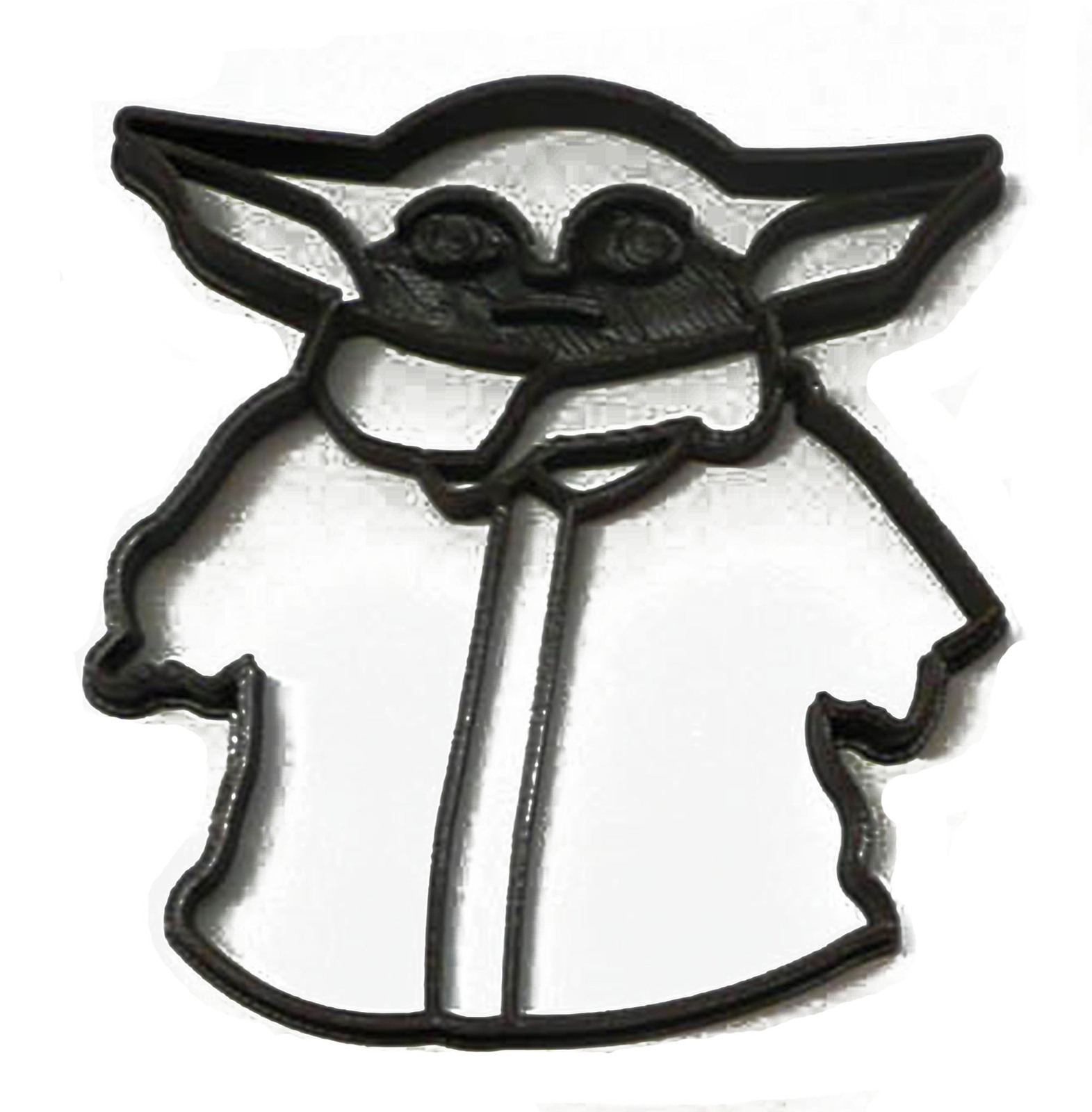 Primary image for Baby Yoda Child Adorable Green Space Baby Star Wars Cookie Cutter USA PR3301