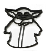 Baby Yoda Child Adorable Green Space Baby Star Wars Cookie Cutter USA PR... - $2.99