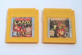 Donkey Kong Land and Donkey Kong Land 2 Nintendo Game Boy Lot - $21.95