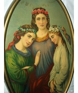1879-Three Girls-Faith,Friendship and Innocence STINSON - $78.00