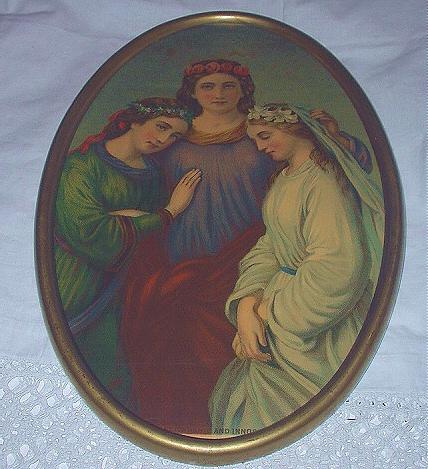 1879-Three Girls-Faith,Friendship and Innocence STINSON