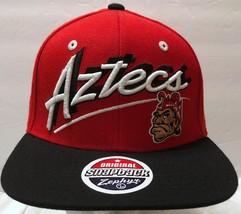 NWT Zephyr San Diego State Monty Montezuma Aztecs Red Snapback Hat SDSU ... - $33.65