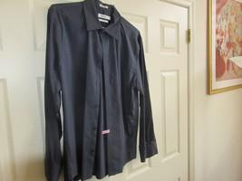 Calvin Klein , X-Large , Men's Long Sleeve Shirt ,94% Cotton , Spandex ,Non Iron - $25.00