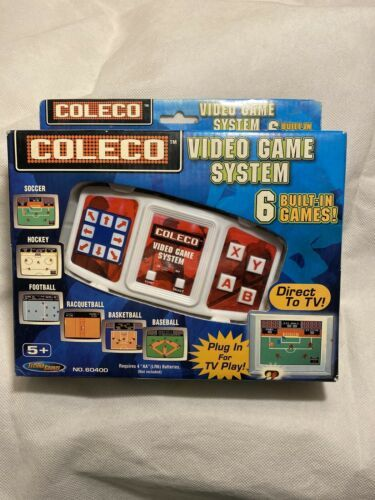 Primary image for 2005 Coleco Video Game System 6 Built-In Games New