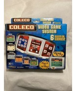 2005 Coleco Video Game System 6 Built-In Games New - $9.85