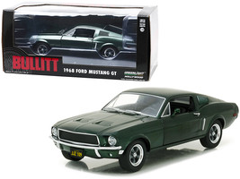 1968 Ford Mustang GT Fastback Green Bullitt (1968) Movie 1/24 Diecast Model Car  - $44.79