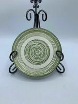 El Verde by SCHONFELD 7 1/8 in Salad Plate Green Swirl Smooth Edge  - $10.39