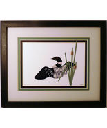 Quilled Loon in Display - $175.00