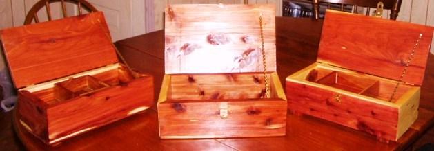 3cedar jewelry boxes