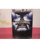 Wrestlemania 25th Anniversary Box Set (DVD, 2009 3 Disc Set) W/ History ... - $10.80