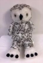 BUILD A BEAR Plush Turner The Snowy White Owl Head Rotates Retired 2010 ... - $14.50