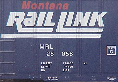 Micro Trains 27240 MRL 50' Boxcar 25058