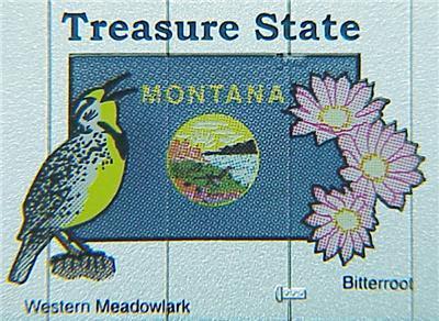 Micro Trains 02100413 Montana State Series