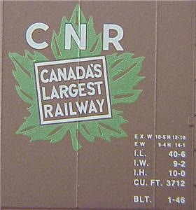 Micro Trains 20206 CN 40' Boxcar 521995