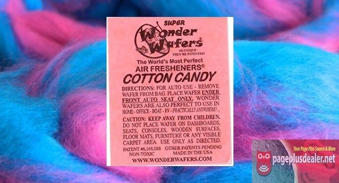 16- Wonder Wafers COTTON CANDY~ Scent~Amazingly Fresh~