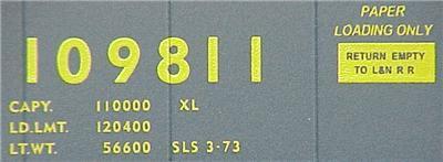 Micro Trains 77130 LN 50' Boxcar 109811