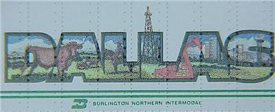 Micro Trains 67180 BN Intermodal Trailer, DALLAS