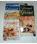 GOURMET MAGAZINES 1998 - 10 ISSUES  JAN. - OCT. COOKING MAGAZINES - $32.38
