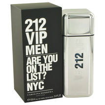 212 Vip by Carolina Herrera Eau De Toilette Spray 3.4 oz for Men - $67.32