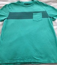 Urban Pipeline Pocket Short Sleeve T-shirt Men's Size Large Green Free S... - $8.99