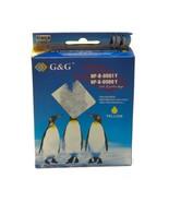 G&G NP-B-0061Y, NP-B-0980Y Ink Cartridges Brother DCP-J125/145C Yellow Expired  - £4.87 GBP